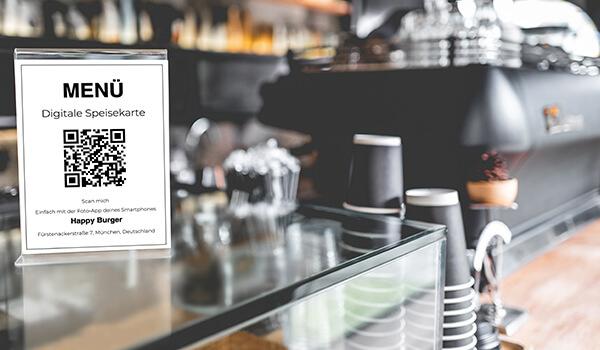 Digitale Speisekarte kostenlos